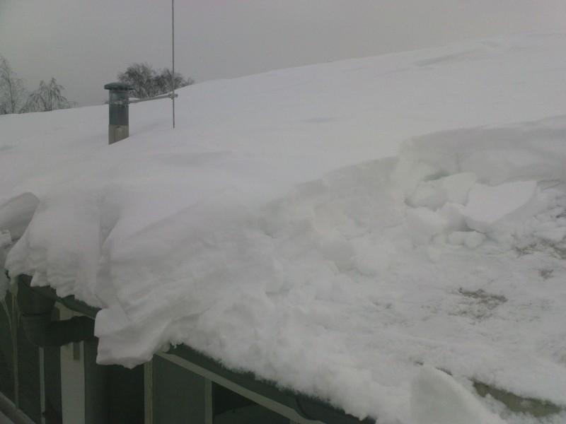 Schnee- und Sturmtief Egon im Anmarsch – Hauseigentümer sind für Ihre Dachflächen verantwortlich